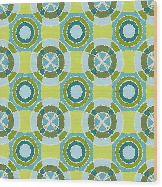 Kaleidoscope 4 Wood Print