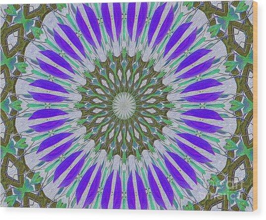 Kaleidoscope Celtic Wood Print