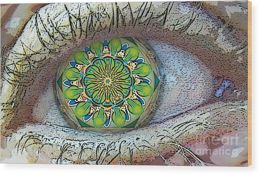 Kaleidoscopeeyeq Wood Print