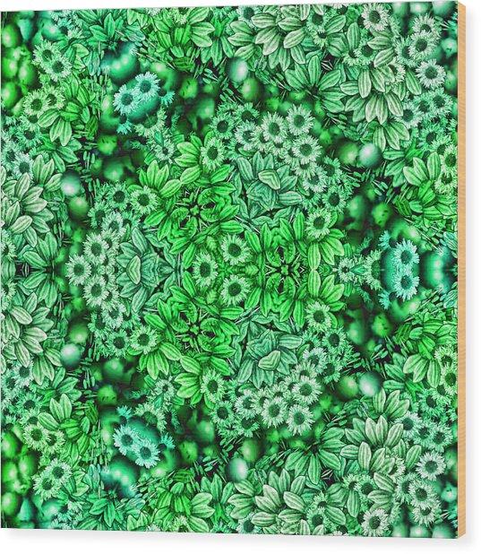 Kaleidoscopic 3 Wood Print by Gabour Demans