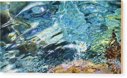 Kanaloa Abstract Wood Print