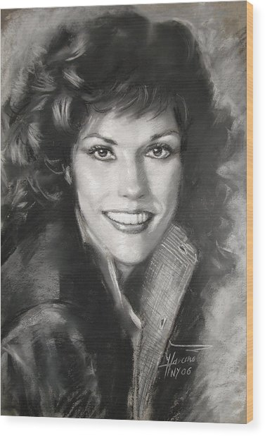 Karen Carpenter Wood Print