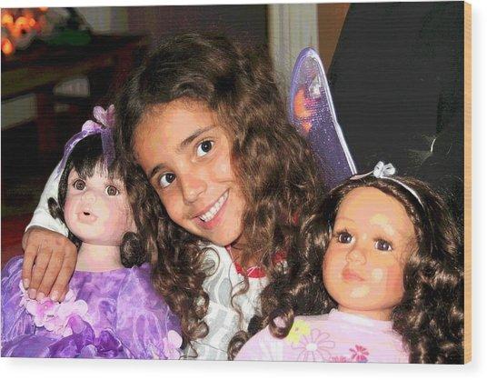 Karla's Dolls Wood Print
