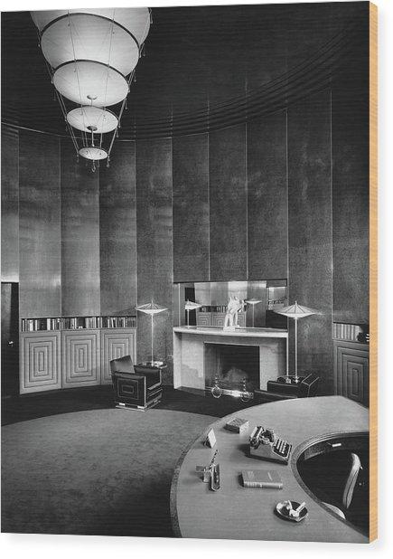 Katharine Brush's Study Wood Print