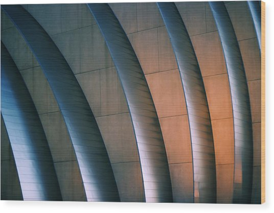 Kauffman Performing Arts Center Wood Print