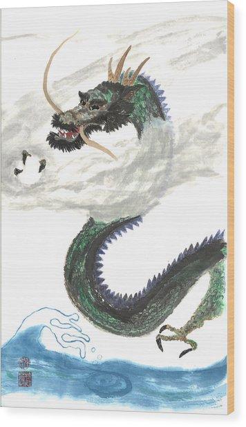 Kazuhiko Ryu Wood Print