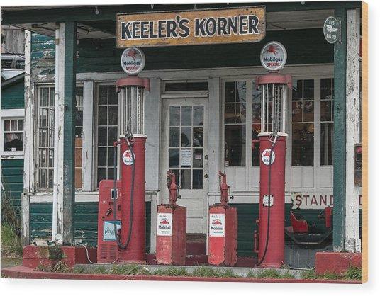 Keeler's Korner IIi Wood Print