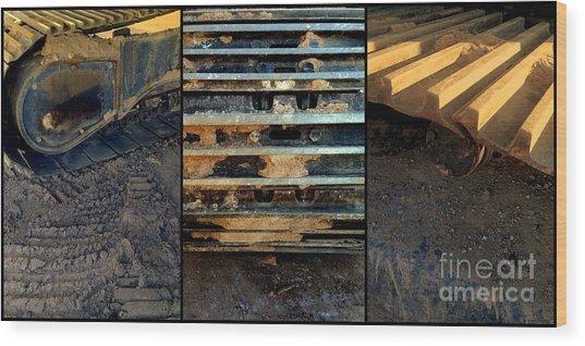 Keep On Trackin' Wood Print