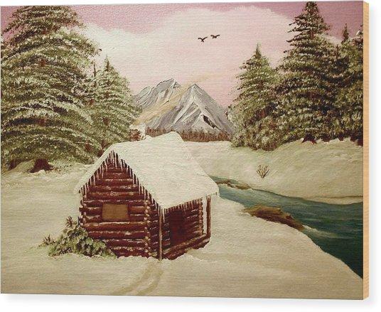 Kelly's Retreat Wood Print