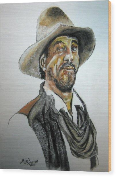 Ken Curtis As Festus Wood Print
