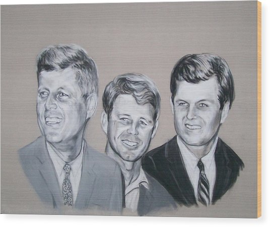 Kennedy Brothers Wood Print
