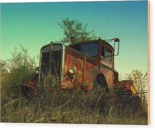 Kenworth 3 Wood Print