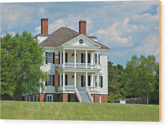 Kershaw House Camden Sc II Wood Print
