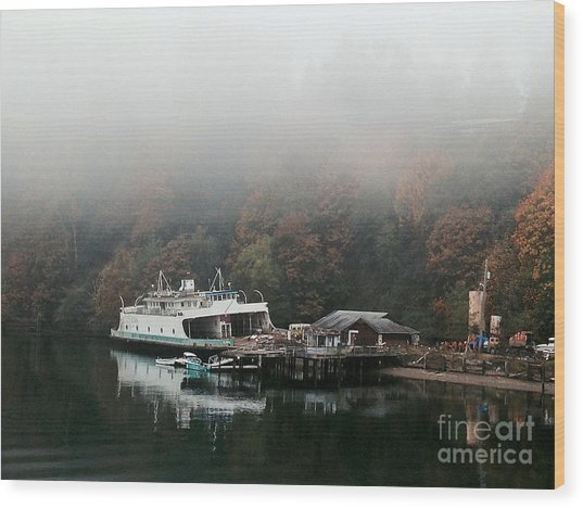 Ketron Island Wood Print