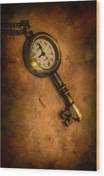 Key To Eternity Wood Print