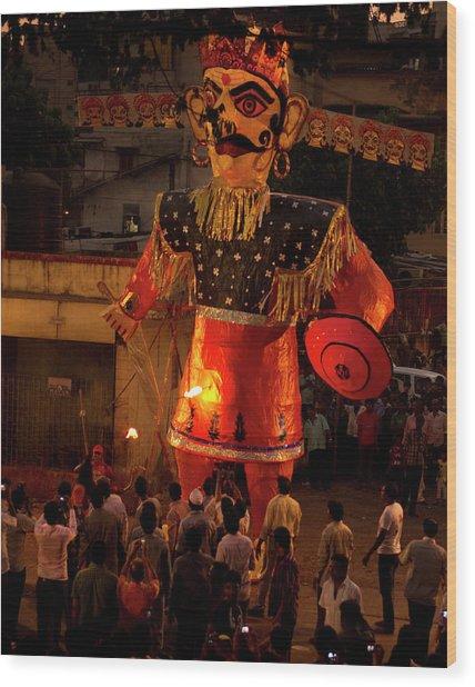 Khar, Mumbai Ram Leela, The Story Wood Print