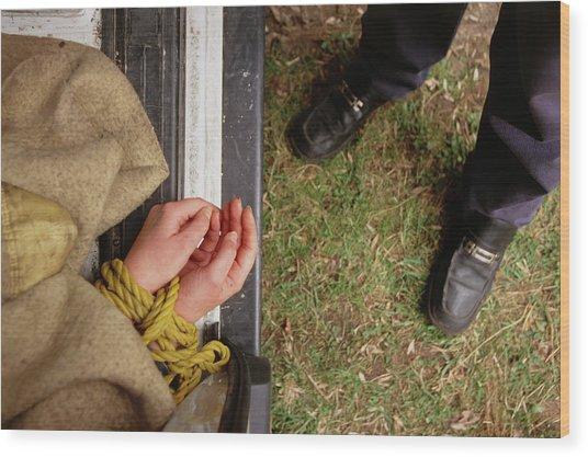 Kidnap Victim Wood Print