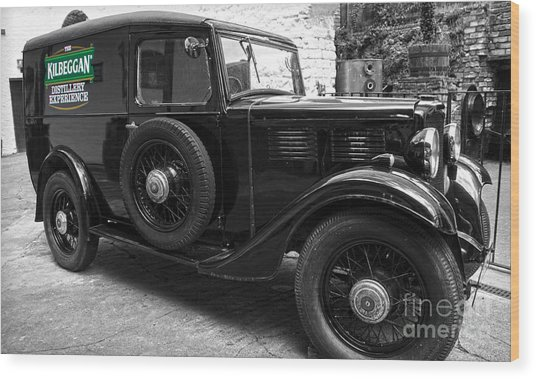 Kilbeggan Distillery's Old Car Wood Print