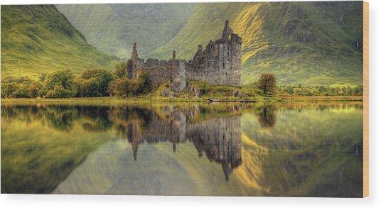 Kilchurn Wood Print