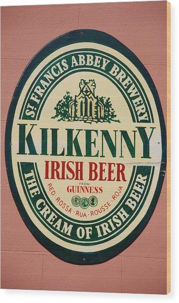 Kilkenny Irish Beer Wood Print
