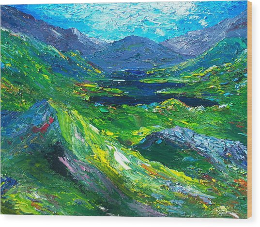 Killarney The Kingdom Of Kerry Wood Print