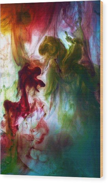 Killing The Dragon Wood Print by Petros Yiannakas