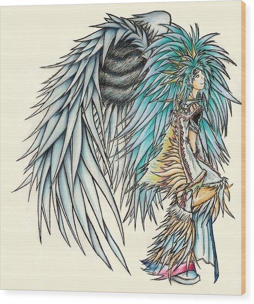 King Crai'riain Wood Print
