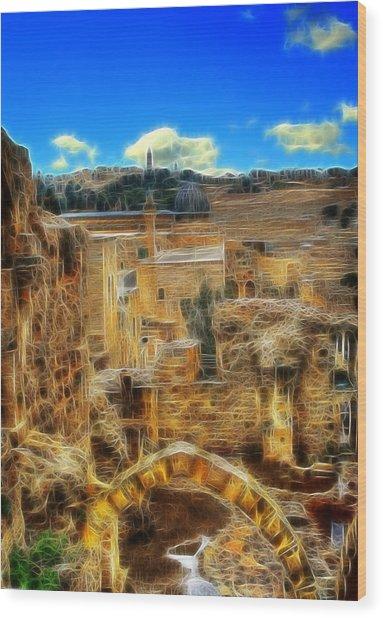 Peaceful Israel Wood Print