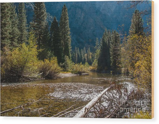 Kings River 1-7810 Wood Print
