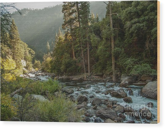 Kings River 1-7824 Wood Print