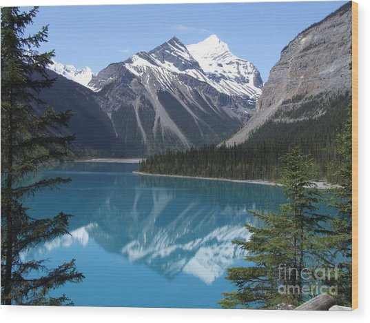 Kinney Lake - Canada Wood Print