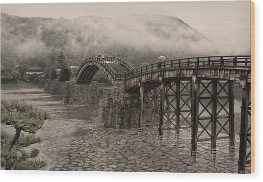 Kintai Bridge - Japan Wood Print
