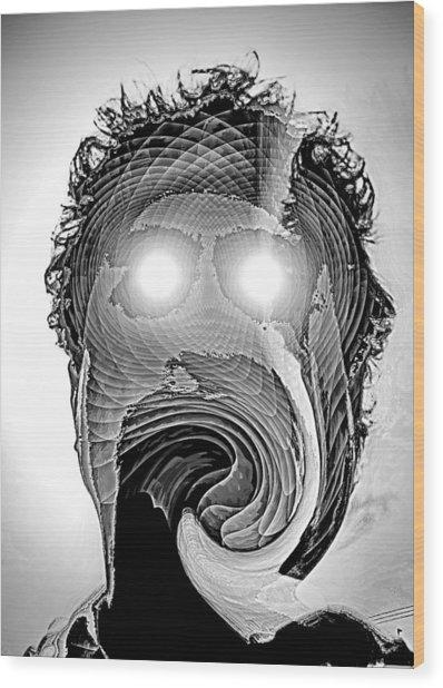Klatu Wood Print