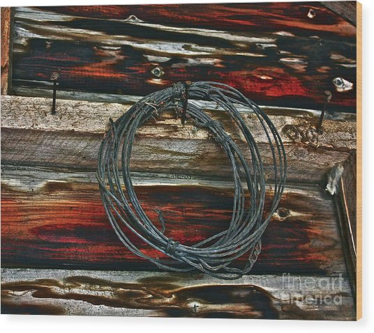 Knot Eye Wood Print