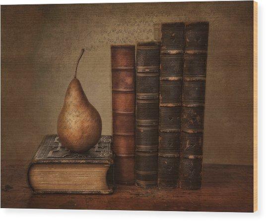 Knowledge Wood Print