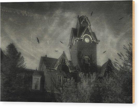 Knox County Poorhouse Wood Print