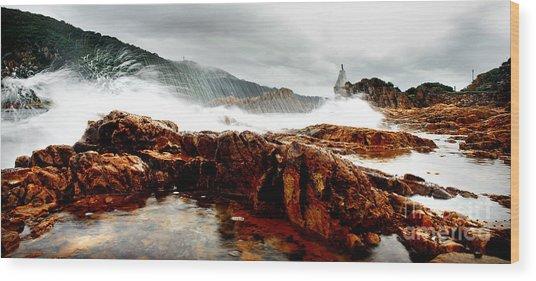 Knysna Lagoon Wood Print