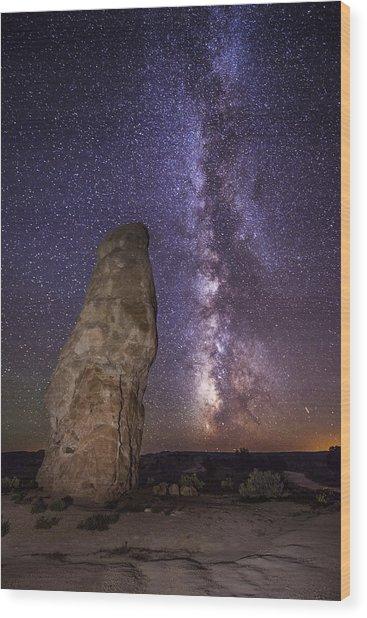 Kodachrome Galaxy Wood Print