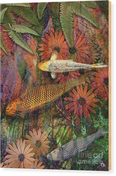 Kona Kurry Wood Print