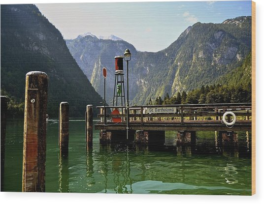 Konigssee Germany Wood Print
