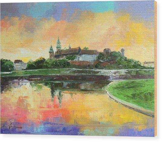 Krakow - Wawel Castle Wood Print