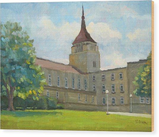 La Crosse Diocese Wood Print