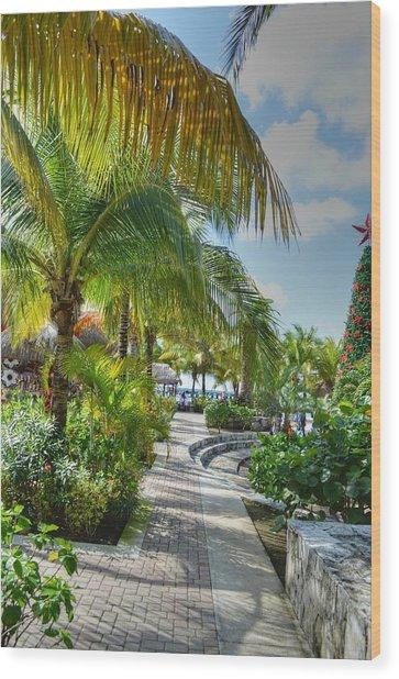La Isla Bonita Wood Print