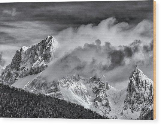 La Jarjatte Wood Print
