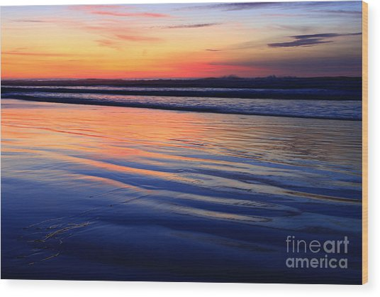 La Jolla Shores Wood Print