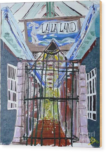 La La Land  Wood Print