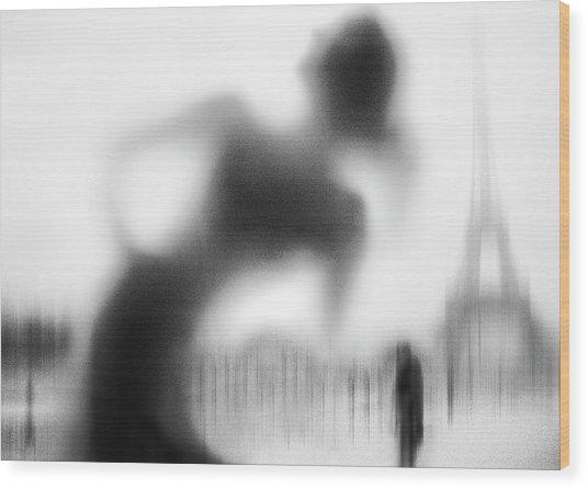La Parisienne Wood Print