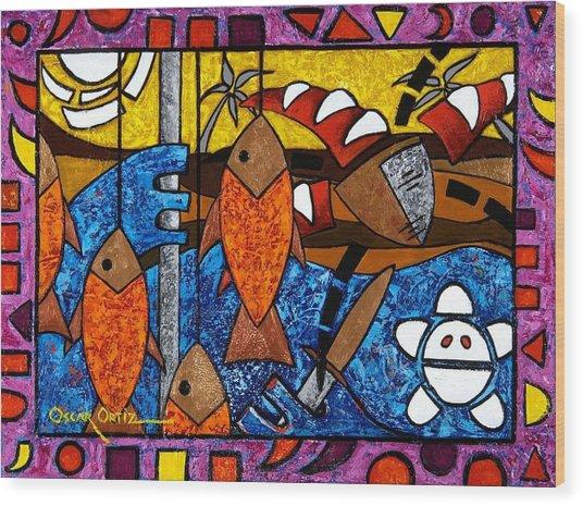 La Pesca Virgen De Un Hombre Honrado Wood Print