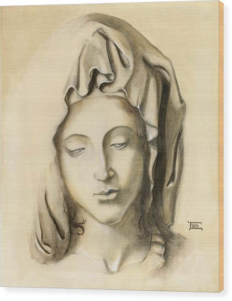 La Pieta-progression 1 Wood Print