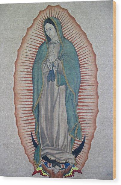 La Virgen De Guadalupe Wood Print